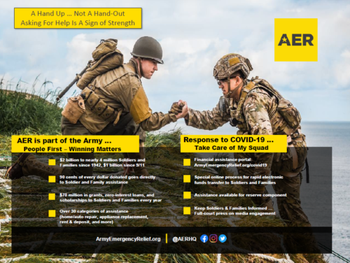 Graphic: Army Emergency Fund - A Hand Up..Not A Hand-Out