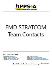 Graphic: FMD STRATCOM Contact List