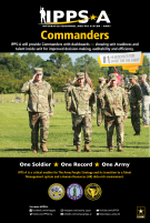 Graphic: IPPS-A Commander Poster