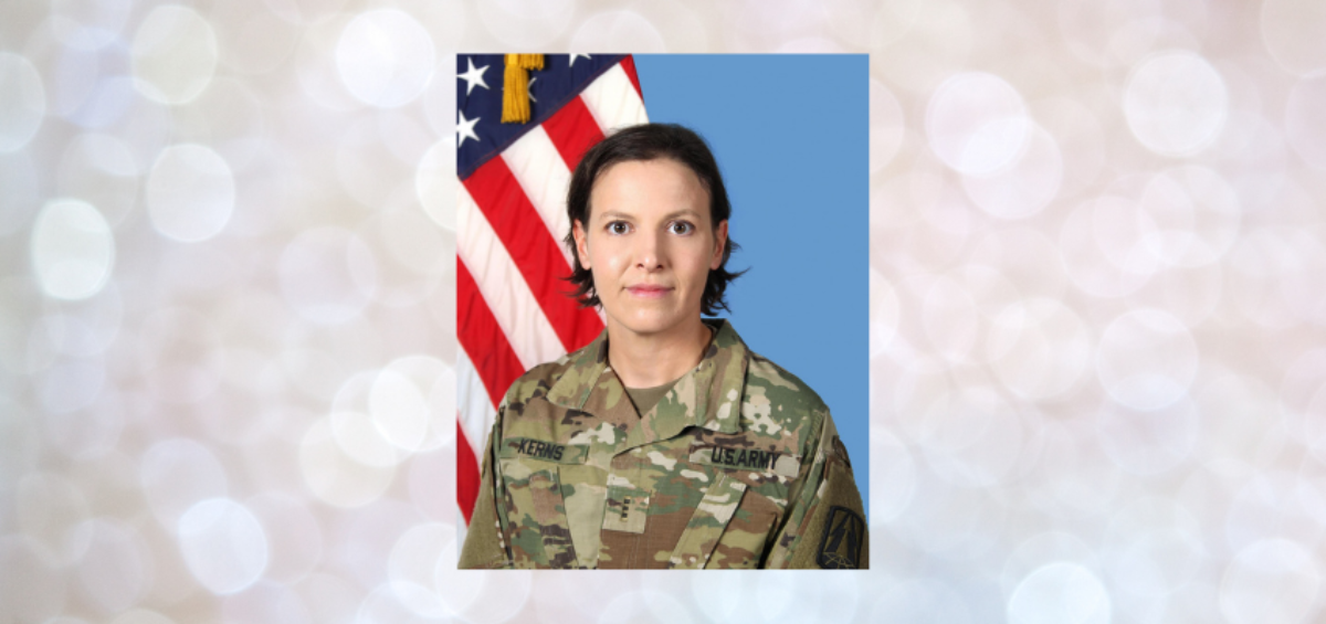 PHOTO: U.S. Army Reserve's Chief Warrant Officer 3 Heather R. Kerns, a 411th Engineer Brigade Human Resources Technician, has dedicated herself since October 2018 to the Integrated Personnel and Pay System - Army (IPPS-A) implementation that will further refine and combine the programs that keep our nation's mightiest asset moving forward.