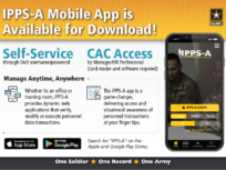 Information to download the IPPS-A Mobile app